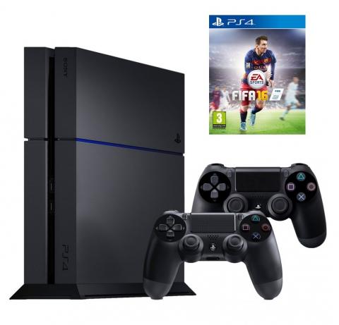 Sony  PlayStation 1 Tb + DualShock 4 + FIFA16